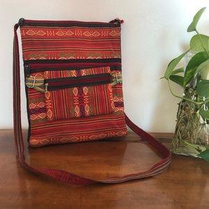 Needlepoint Native American style Crossbody bag